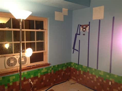 minecraft wallpaper border  bedroom wallpapersafari