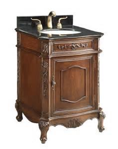 24 quot antique debellis bathroom single sink vanity w
