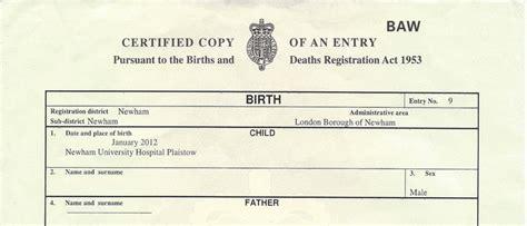Uk marriage certificate sample yadclub Gallery