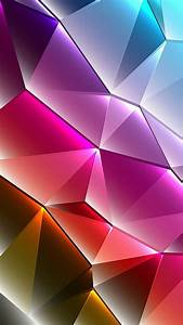 Cool Phone Wallpapers 01 of 10 with Colorful 3D Triangles ...