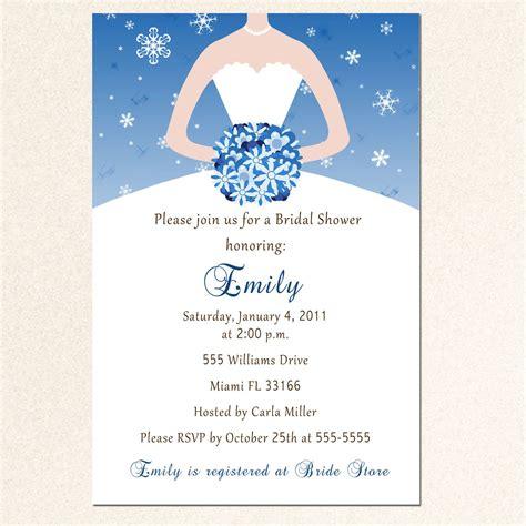 Bridal Shower Invitation Templates  Bridal Shower