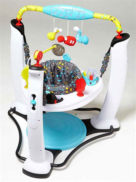 activity baby centers jumper stationary bouncer parents gear tunes many