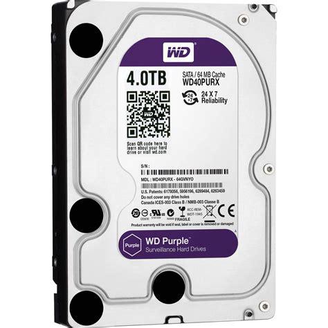 wd cctv purple 2tb 3 5 wd20purx wd 4tb purple surveillance oem drive
