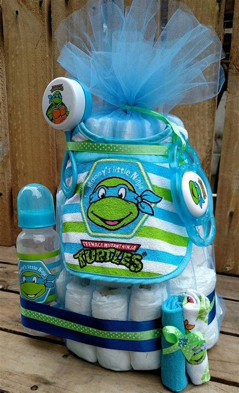 Turtles Baby Shower Theme by Blue Leonardo Tmnt Mutant Turtles Baby Boy