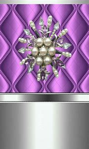 Pin by Nicole on Wallpaper | Bling wallpaper, Pearl ...