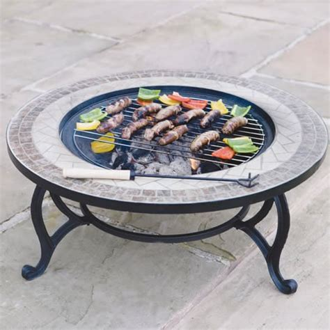 patio coffee table with pit trueshopping beacon star outdoor garden mosaic