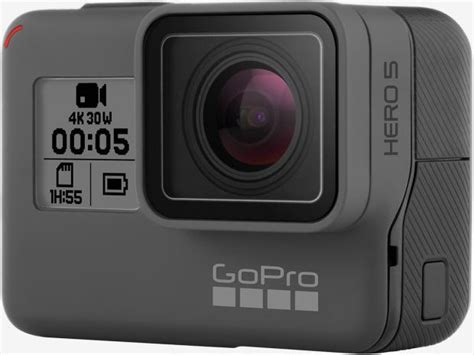 gopros hero black shoots video integrated lcd