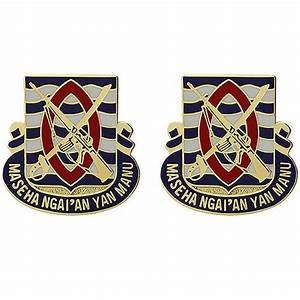 294th Infantry Regiment Unit Crest | ACU Army