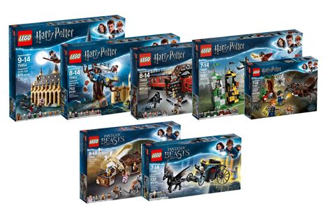 Lego Harry Potter 2018 Sets Vorgestellt Alle Sets In Der 220 Bersicht