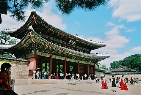 changdeokgung palace  photo  seoul north trekearth