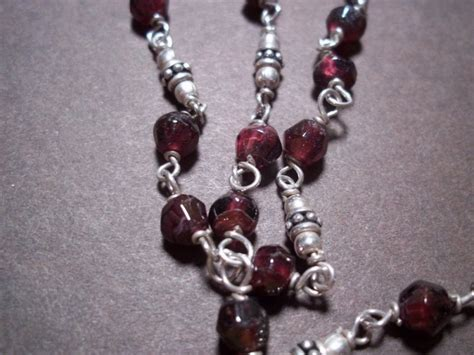 retired silpada garnet stone silpada necklace