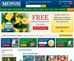 12月michigan bulb优惠码 michigan bulb优惠券和促销