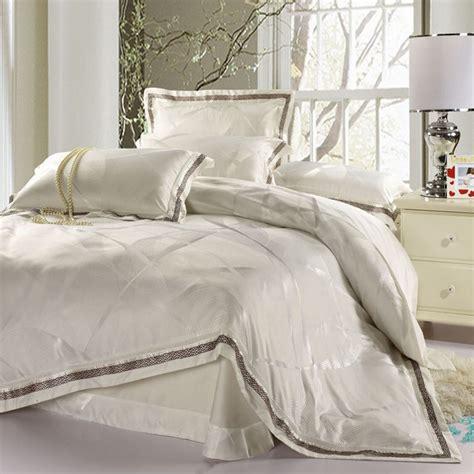 White Duvet Cover King by White Satin Bed Sets Duvet Cover King Size 4pcs