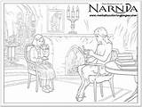 Narnia Tumnus Coloring Pages Chronicles Lucy Witch Mr Wardrobe Lion Colouring Printable Pevensie Witches Template Realisticcoloringpages Internet sketch template