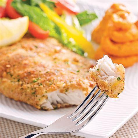 poisson cuisiné filets de poisson en croûte citronnée recettes cuisine
