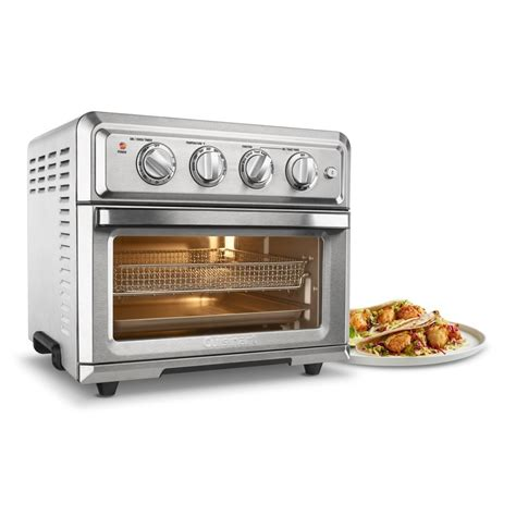 fryer air cuisinart oven convection toaster silver