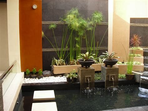 contoh gambar gambar taman rumah minimalis inspirasi