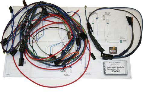 1968 Firebird Wiring Harnes by 67 68 Camaro Classic Update Wiring Harness 500661