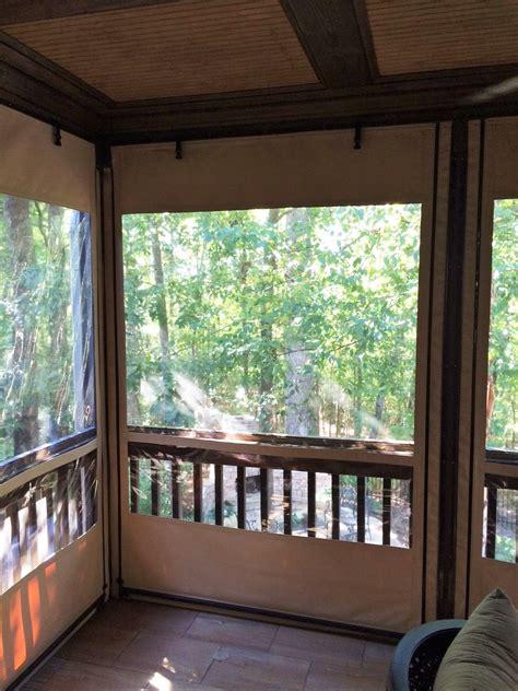 clear plastic vinyl patio curtains icamblog