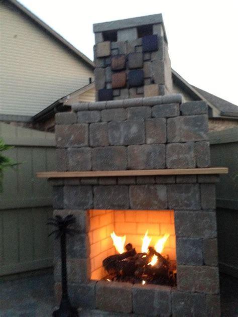outdoor fireplace lighting outdoor fireplace light up at night outdoor living pinterest