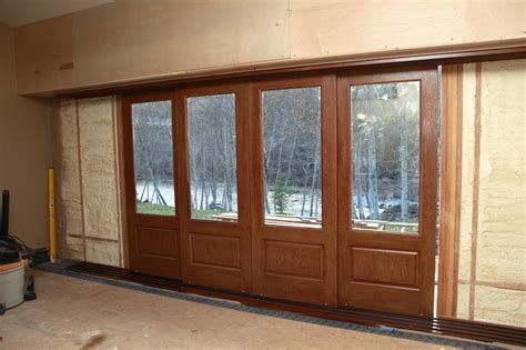 exterior pocket doors out of sight exterior pocket doors thisiscarpentry