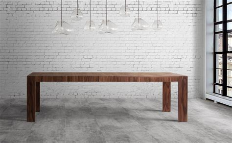 table salle 224 manger noyer avec rallonge portefeuille largeur 200 300 cm collection mighty