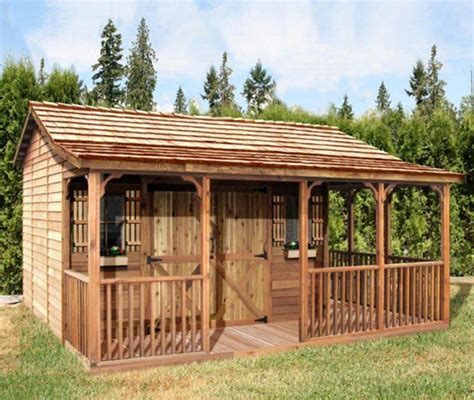 The Cedar Shed - cedarshed farmhouse 20x14 shed fh2014 free shipping