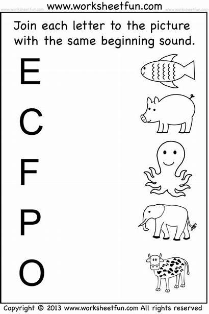 Worksheets Kindergarten Printable Preschool Worksheetfun Pdf Coloring