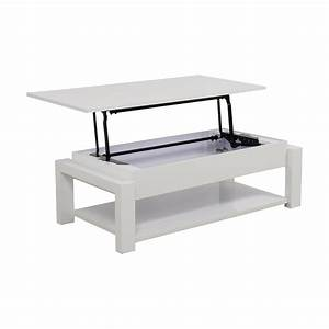 84 off white lift top coffee table tables for White lift top coffee table