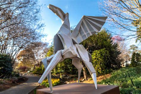 Origami in the Garden - Lewis Ginter Botanical Garden