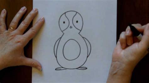 draw  cartoon penguin  drawing lesson  kids