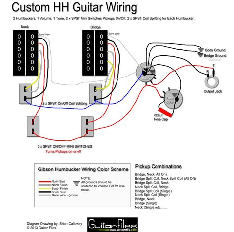 wrg 8679 2 single coil bass pickup wiring diagram