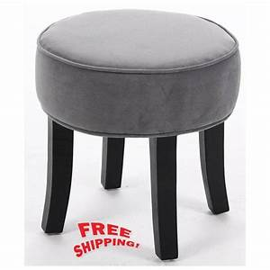 dressing table chair bedroom vanity stool makeup round With makeup chair for bathroom