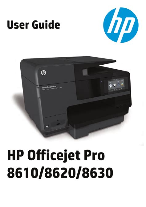 Please choose the relevant version according to your computer's operating system and click the download button. HP Officejet Pro 8610 User's Manual - Free PDF Download ...