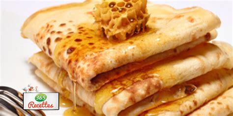 recette facile des cr 234 pes au miel fa 231 on cyril lignac