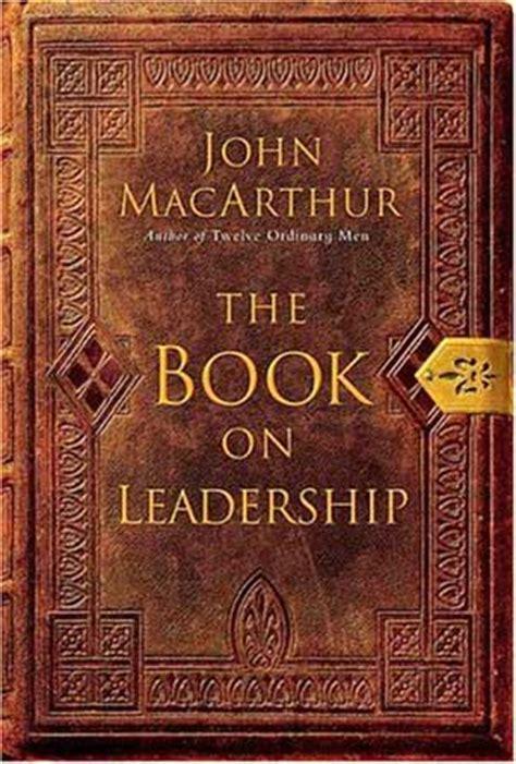 book review  book  leadership  john macarthur