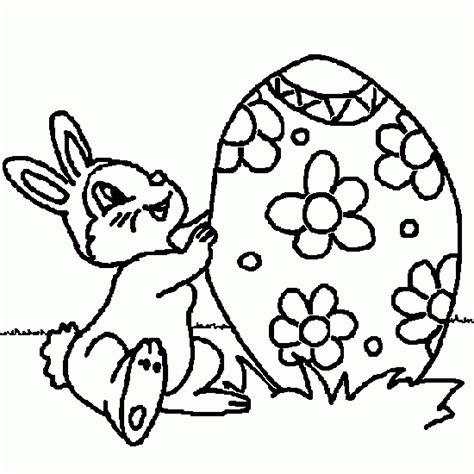 dessin lapin a imprimer