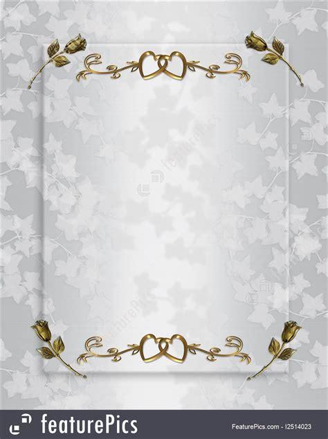 illustration  wedding invitation elegant satin