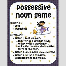 Ms Third Grade Possessive Nouns Game