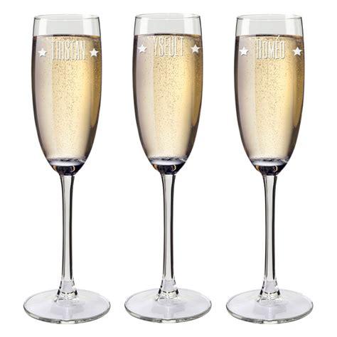 bicchieri spumante fl 251 te spumante con nomi incisi idea regalo originale