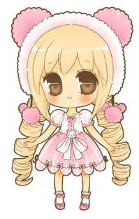 Cute Kawaii Chibi Girl Drawing
