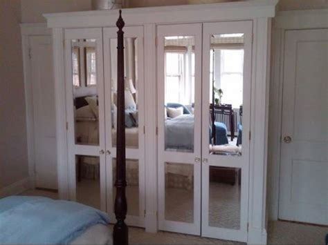 Frameless Mirror Bifold Closet Doors Youtube