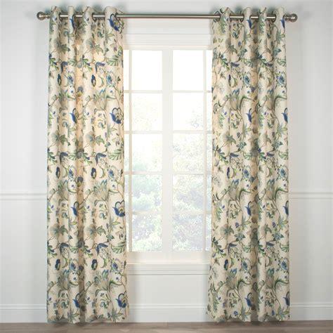 grommet top curtains indoor outdoor grommet top curtains and panels
