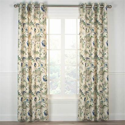 Grommet Curtain Panel Brissac Window Lined Inch