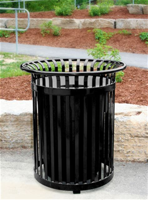 premier ev series outdoor trash can 34 gallon belson