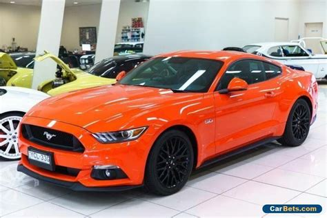 ford mustang fm fastback gt   competition orange