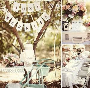 How to plan a vintage wedding vintage vandalizm for Vintage wedding decorations ideas