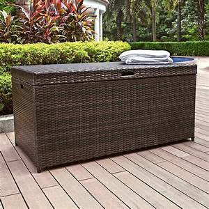 rattan garden furniture the garden and patio home guide With katzennetz balkon mit garden storage box