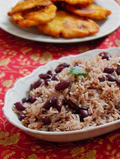cuisine avec du riz riz collé aux haricots rouges recette haïtienne à faire