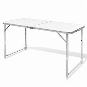Table De Camping Pliante : acheter table pliante de camping en aluminium avec hauteur ~ Melissatoandfro.com Idées de Décoration